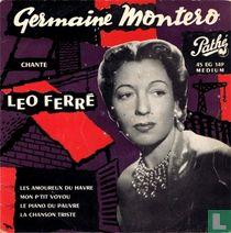 Germaine Montero chante Leo Ferré