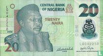 Nigeria 20 Naira 2008
