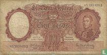 Argentinië 100 Pesos 1954