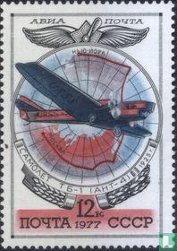 Oude Sovjet-vliegtuigen