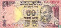 India 50 Rupees 2008 (E)