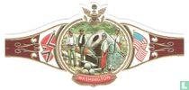 De federale mortier battery bij Yorktown