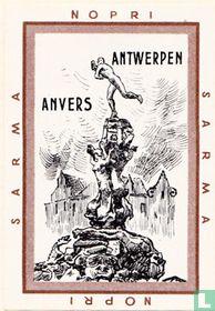 Antwerpen Anvers - Brabo fontein
