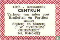 Cafe Rest. Centrum - J.W.Overeem