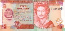 BELIZE 5 $