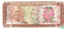 Sierra Leone 50 Cents 1984