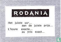 Rodania  Het juist uur...
