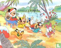 Christmas-Disney characters
