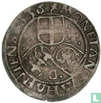 Denemarken 2 skilling 1536 (Kopenhagen)