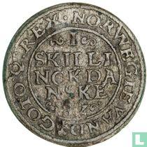 Denemarken 1 skilling 1582