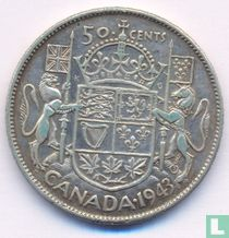 Canada 50 cents 1943