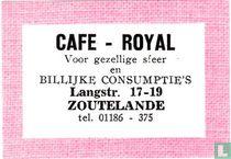 Cafe - Royal