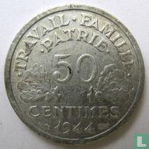 Frankreich 50 Centime 1944 (B)
