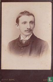 Portrait of young gent wiht moustache