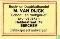 Boekhandel M. Van Dijck