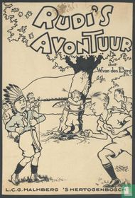 Rudi's home page Adventure original drawing for cover