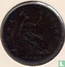 Verenigd Koninkrijk 1 penny 1866