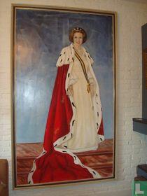 Olieverf schilderij Beatrix