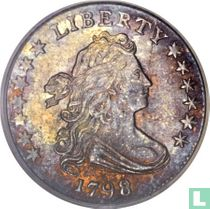 United States 1 dime 1798 (type 1)