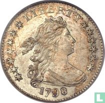 United States 1 dime 1798 (type 2)