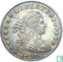 United States 1 dime 1796