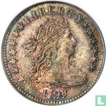 United States 1 dime 1798 (type 3)