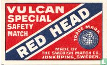 Red Head Vulcan Special safety match