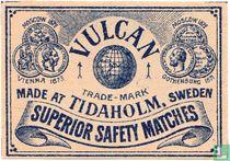 Vulcan Superior safety matches