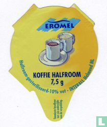 Koffie halfroom