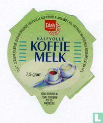 Halfvolle koffiemelk
