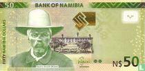 Namibia 50 Namibia Dollars 2012