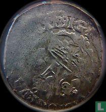 France ½ ecu 1591 (G)