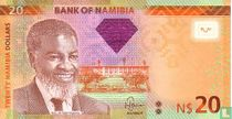 Namibia 20 Namibia Dollars 2011
