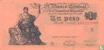 Argentinië 1 Peso 1951