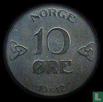 Norwegen 10 Öre 1912