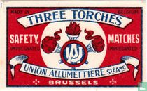 Three Torches matchcovers catalogue