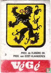 Prov. de Flandre OR. Prov. van Oost-Vlaanderen