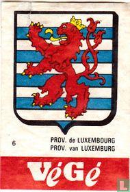Prov. de Luxembourg Prov. van Luxemburg