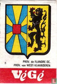 Prov. de Flandre Oc. Prov. van West-Vlaanderen
