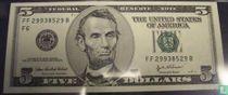 V.S. 5 Dollars F6