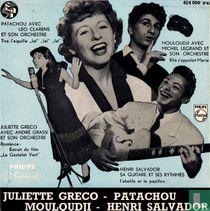 Juliette Gréco - Patachou - Mouloudji - Henri Salvador