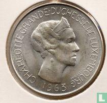 Luxemburg 100 francs 1963