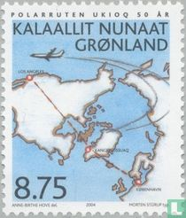 Airline connection with Denmark