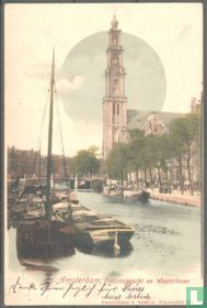 Amsterdam, Prinsengracht en Westertoren