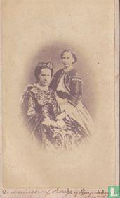 Louise af Nederlandene, dronning af Sverige og Norge, og Louise prinsesse af Sverige-Norge