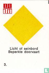 Licht of seinbord