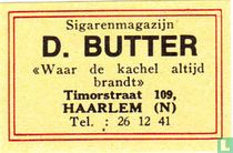 Sigarenmagazijn D. Butter