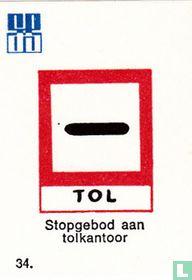 Stopgebod aan tolkantoor