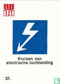 Kruisen van electrische luchtleiding