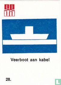 Veerboot aan kabel